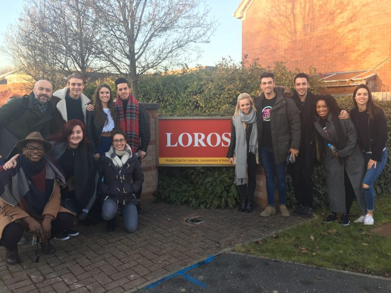 Grease Cast Brings The Magic of Theatre to LOROS Patients