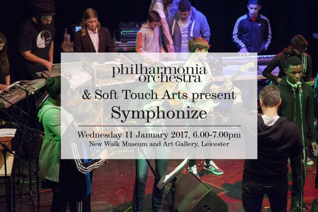 Philharmonia and Soft Touch Arts taking Leicester's youth to a new level