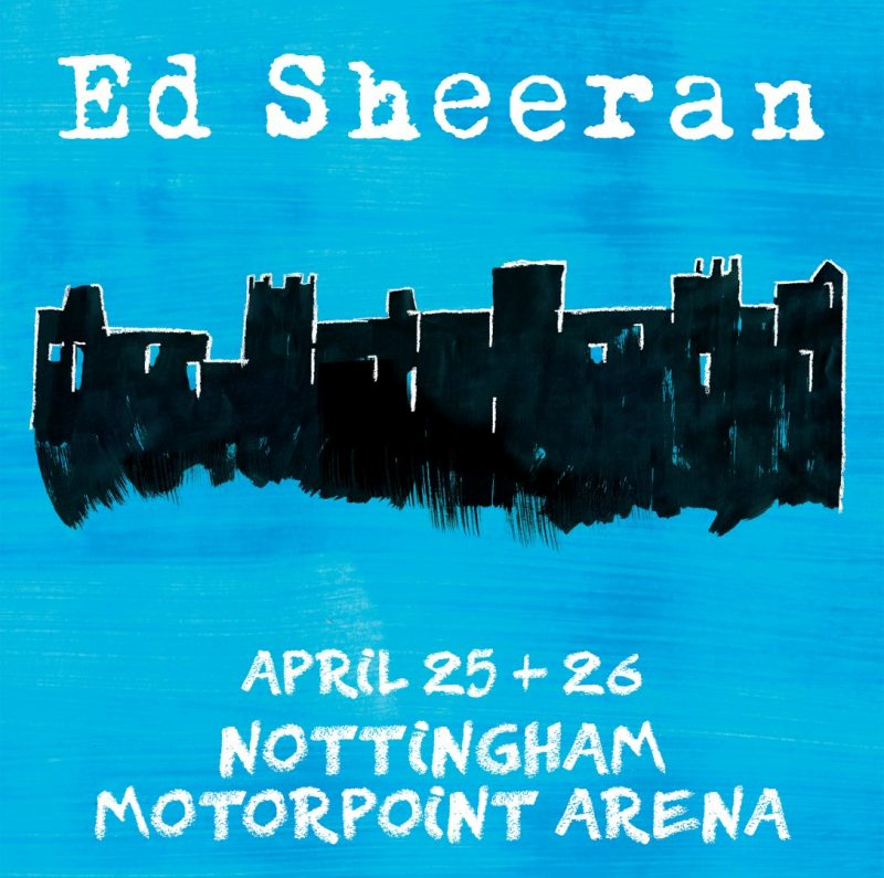 Ed Sheeran Announces UK Tour Heading to Nottingham & Birmingham