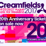 Creamfields 2017 – Line up announced Celebrating 20 Years