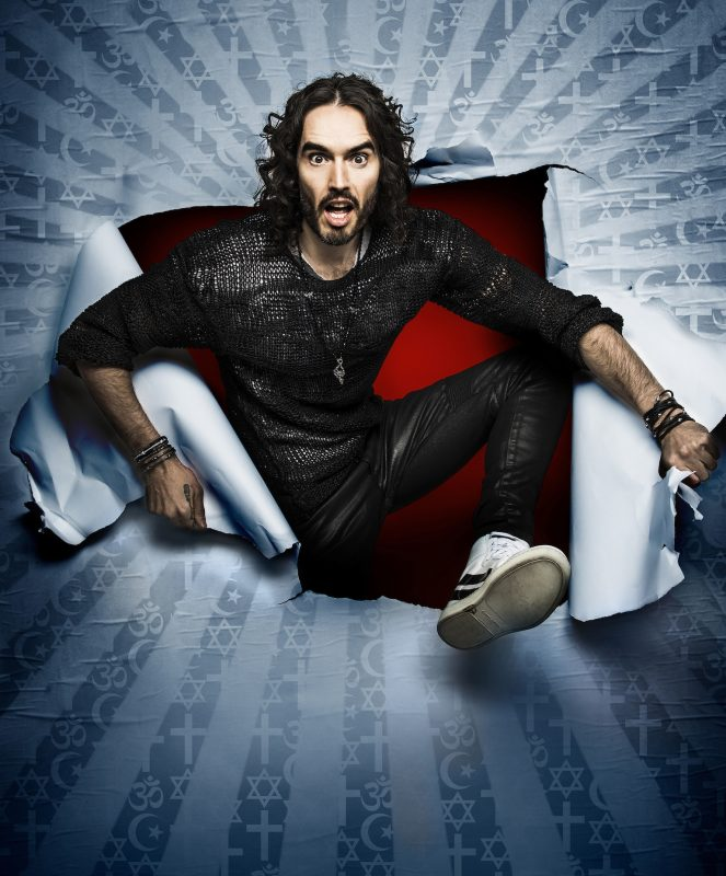 Russell Brand is back and hitting the road with a new tour.