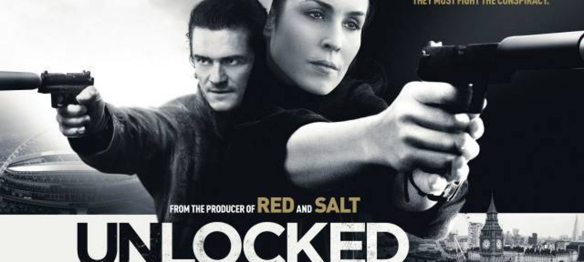 We Review, The New Action Film, Unlocked As It Hits The Big Screen.