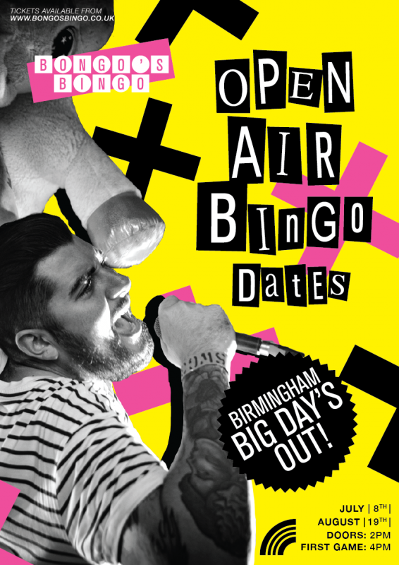 Bongo's Bingo Big Day Out Is Back With Dates Announced In July & August.