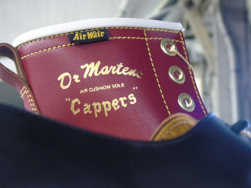 DR. MARTENS MADE FOR WALKING; MADE IN ENGLAND