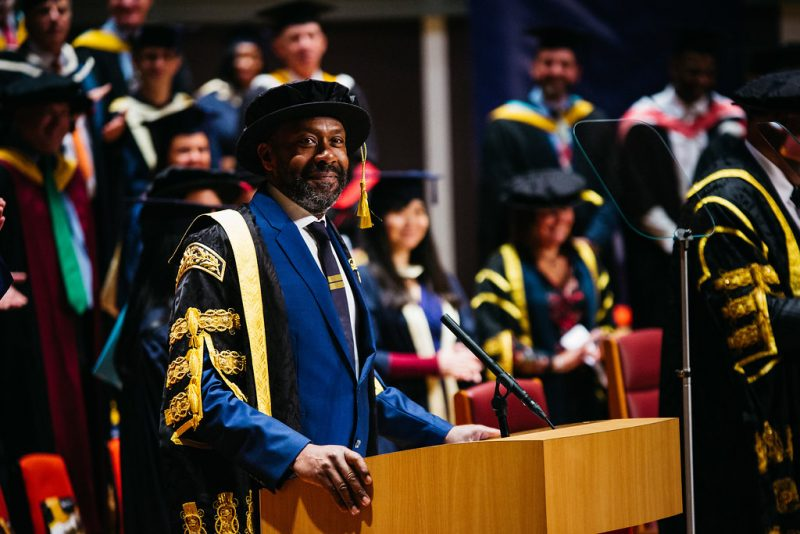 "Sir Lenny Henry tells class of 2017 ""in moments of great change, there are always opportunities"""