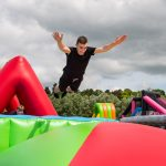 LONGEST CONTINUOUS INFLATABLE OBSTACLE COURSE BOUNCES INTO STAFFORDSHIRE THIS WEEKEND