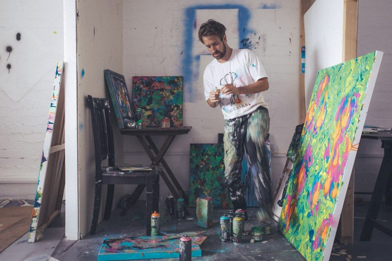 GREAT EXPECTATIONS: Abstract Artist Alexander Rhys