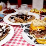Real American Breakfasts at Annie's Burger Shack in Nottingham