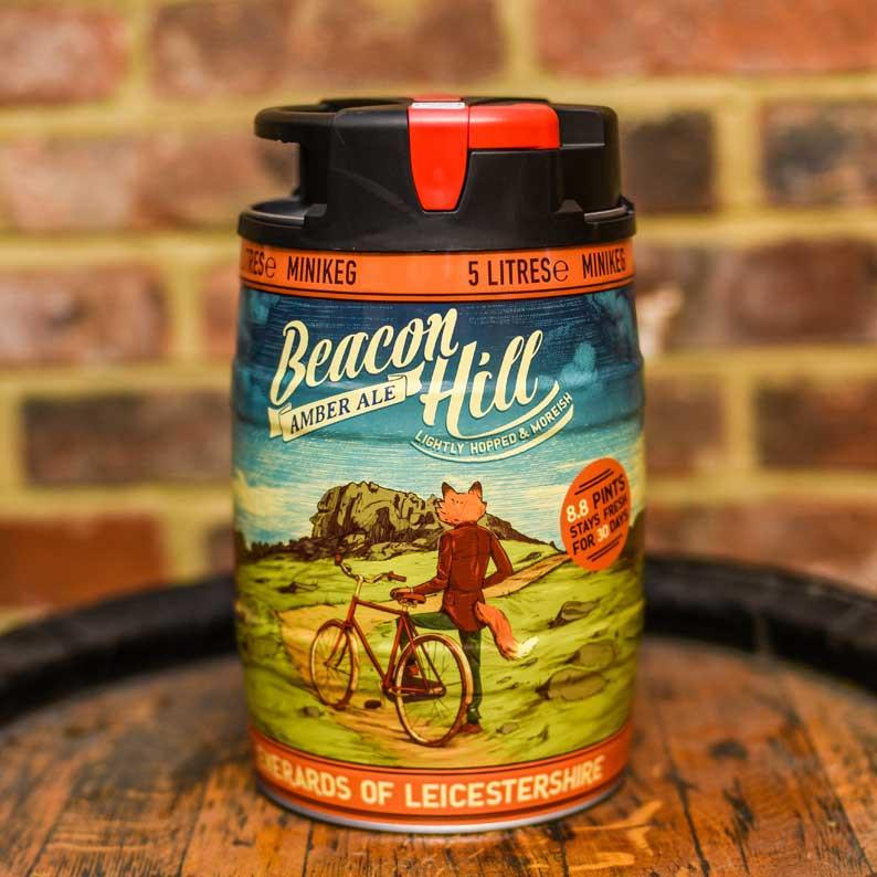 WIN a Mini Keg of Beacon Hill Beer from Everards