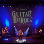 IT'S ALL ABOUT THE GUITAR IN BIRMINGHAM AS 'THE STORY OF GUITAR HEROES' PLAYS PMT