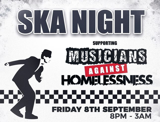 2Funky Music Cafe presents Ska Night: Musicians Against Homelessness