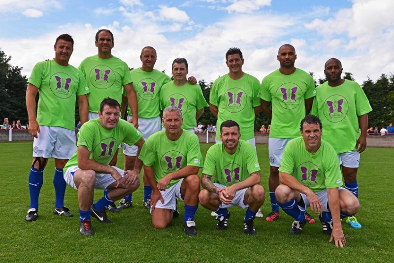 Leicester City Legends Charity Match For Youth Homelessness.