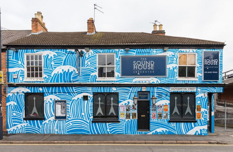 Leicester's 'The Sound House' Named in UK's Top Statement Walls