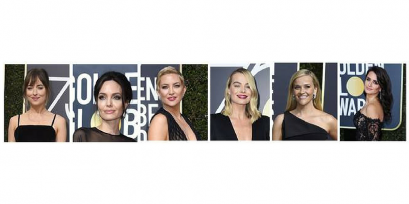 6 Beauty Trends from the Golden Globes 2018