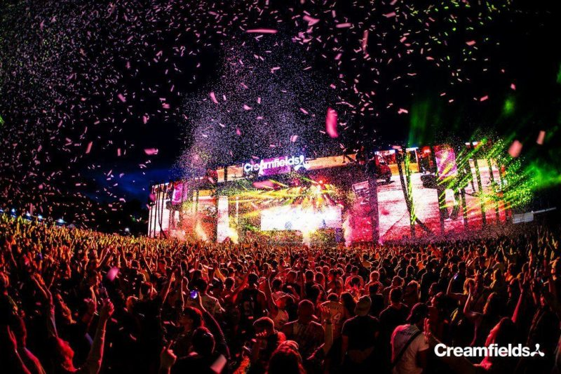 Creamfields Announce Full 2018 Line up