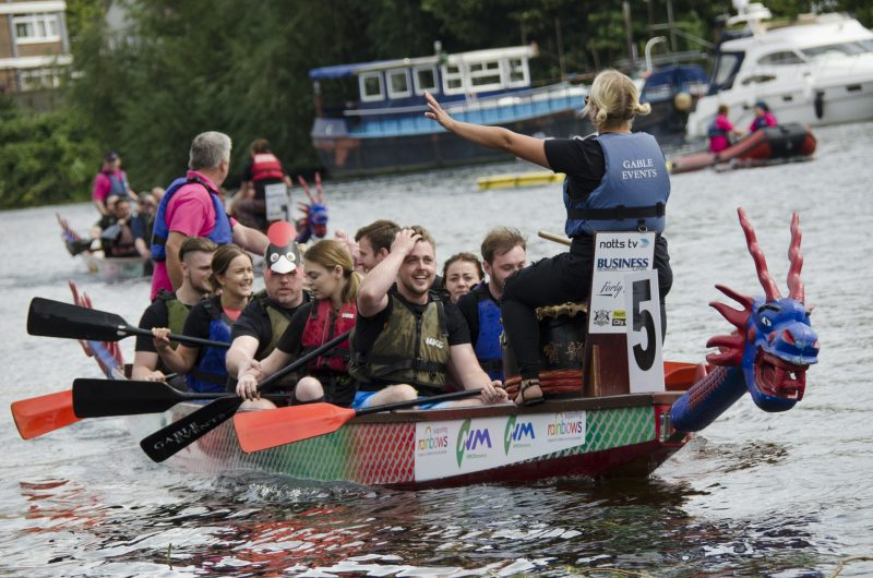 2018 Nottingham Dragon Boat Challenge launched to celebrate Chinese New Year