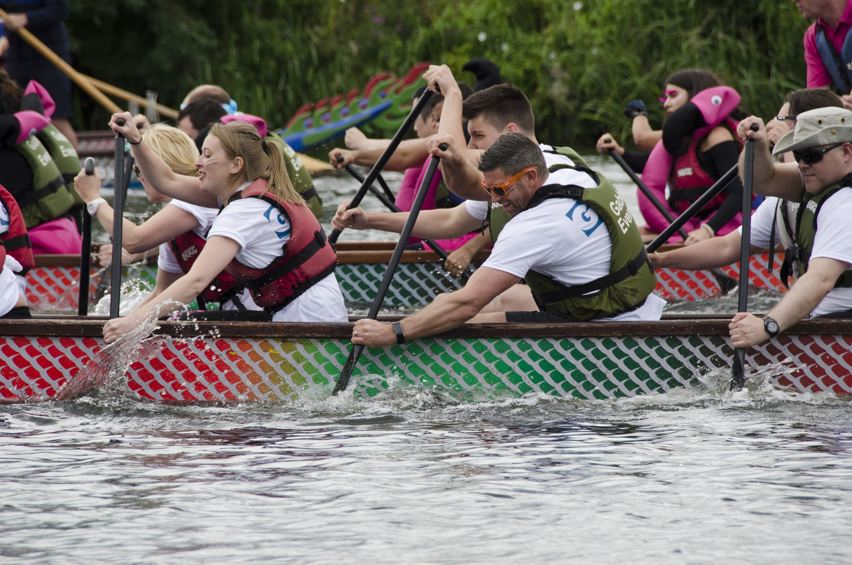 The Nottingham Riverside Festival Dragon Boat Challenge – a Boat Race for all!