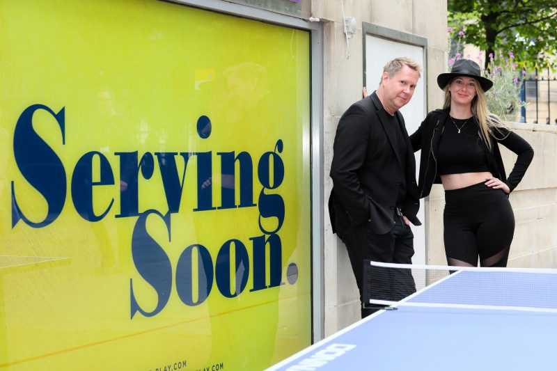 SERVE Brings Ping Pong to Birmingham