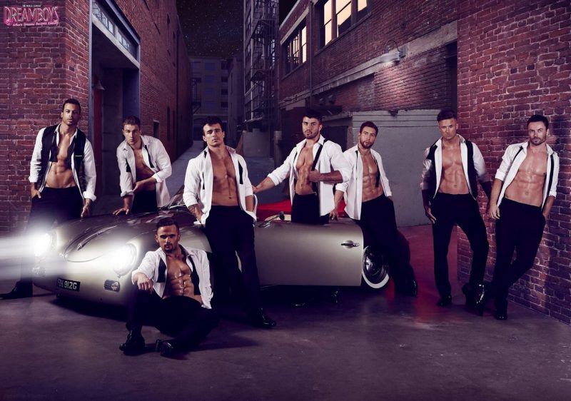 The Dreamboys bring an exhilarating live show to the Belgrade Theatre
