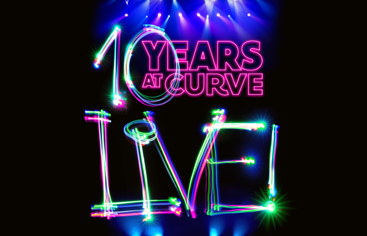 Leicester's Curve theatre has today announced details for its 10th birthday event, Curve Live!