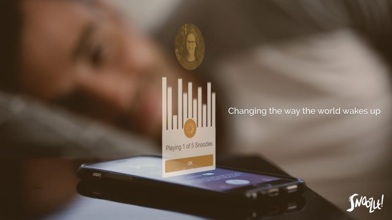 Make Waking Up A Dream With New Snoozle Alarm App