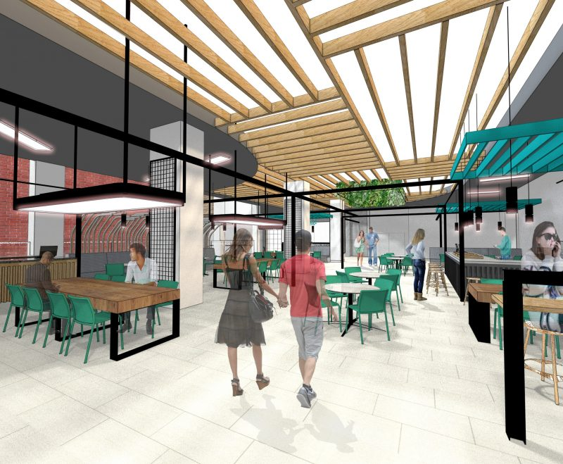 Designs Unveiled For Intu Victoria Centre's New-Look Clocktower Dining