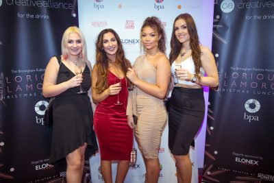 The Birmingham Publicity Association's Glorious and Glamorous Lunch reveals LoveBrum donation