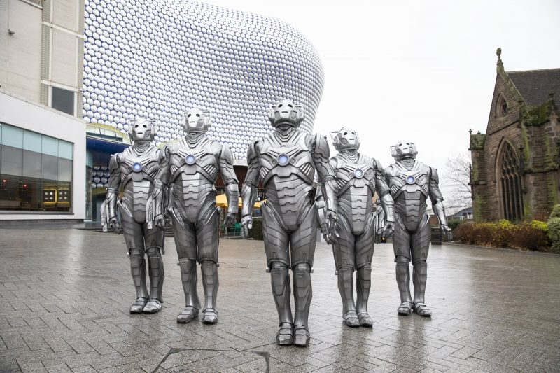 CYBERMEN LAND IN BIRMINGHAM AS FIRST DOCTOR WHO ESCAPE ROOM TICKETS GO ON SALE.