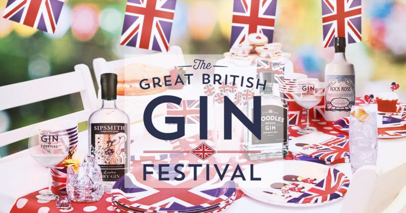 The Great British Gin Festival Returns With 2019 Tour.