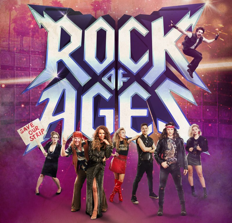 Rock Of Ages, Strictly Sensation Kevin Clifton Stars at Belgrade Theatre.