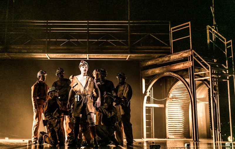 INTERVIEW WITH BETH STEEL: WRITER OF 'THE BEST PLAY ABOUT THE MINERS STIRKE' - WONDERLAND