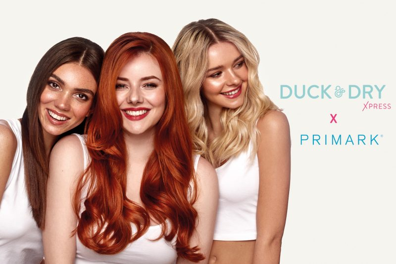 Duck & Dry Launches Beauty Studios On High Street, In Collaboration With Primark.