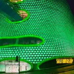 Selfridges Birmingham goes green for St Patrick's Day