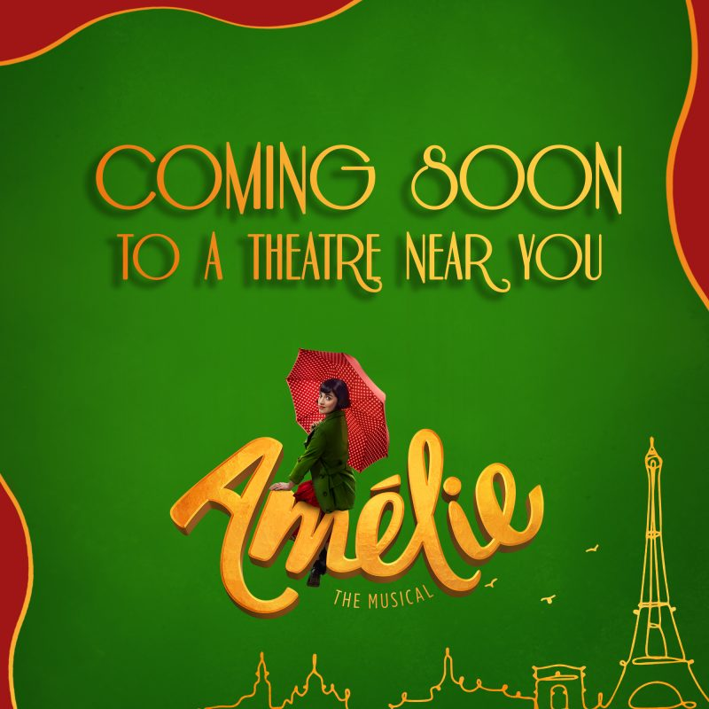 Amelie Comes To Leicester's Haymarket Theatre This July.