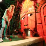 Leicester's Treetop Adventure Golf is now open