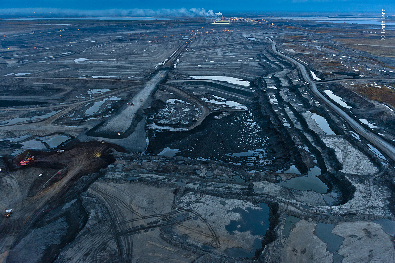 Tar Sands at Night #1