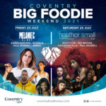 Spice Girl Leads Pop Superstars Performing As Part Of Coventry Food Festival's 'Big Foodie Weekend'