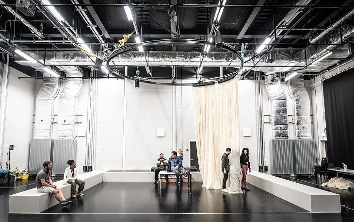 The cast of Cat on a Hot Tin Roof rehearsals. Photo by Marc Brenner