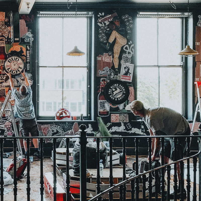 The Blind Rabbit, Nottingham's New York inspired bar, grill and live entertainment space is set to open this summer – and becomes the first major venue to open post lockdown in the city centre.