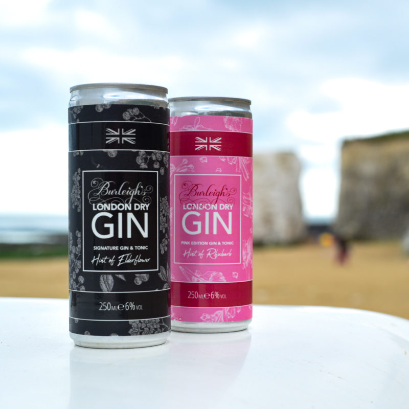 Burleighs Gin has created its very own ready to drink gin and tonics with two flavours, the Signature Gin and Tonic and Pink Edition Gin and Tonic