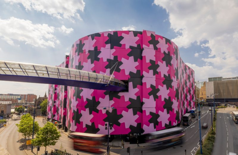 Selfridges has officially unveiled a new monumental public art commission by multi-disciplinary artist Osman Yousefzada at its Birmingham store.