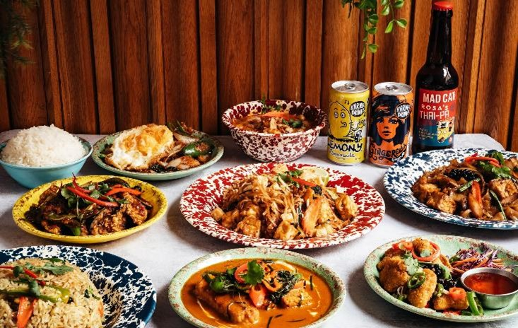 Rosa's Thai Veggie - the plant-based sister brand to popular restaurant group Rosa's Thai Cafe - is open with delivery and takeaway service from Rosa's Thai Cafe Birmingham