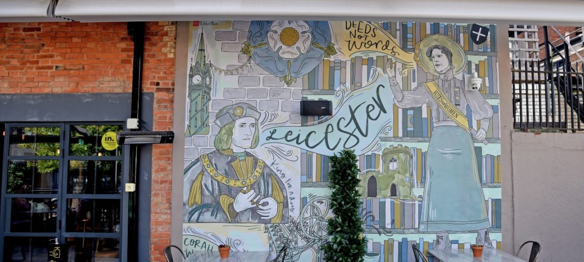 Leicester's beer gardens have been given a new lease of life thanks to the Art on Tap trail, bringing colourful murals by international and local artists to outdoor spaces in licensed premises.